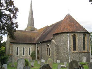 photo of St Martin of Tours' Church burial ground